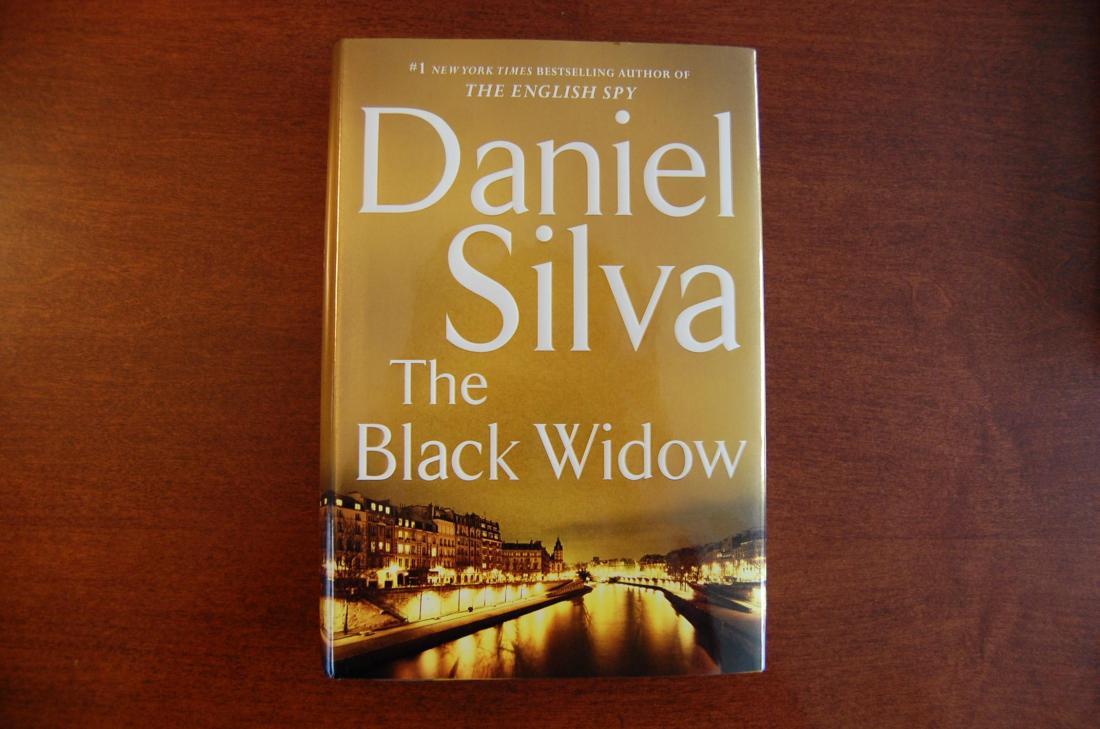 The Black Widow by Daniel Silva - Book