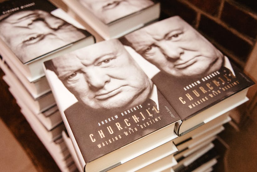 Churchill book cover The Spectator